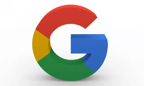 Google began dividing search results by a wide gray stripe