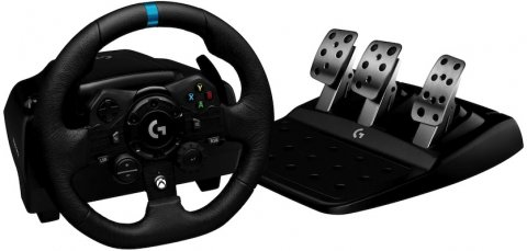 Logitech G923: Logitech unveils flagship gaming steering wheel for PlayStation 5 and PC