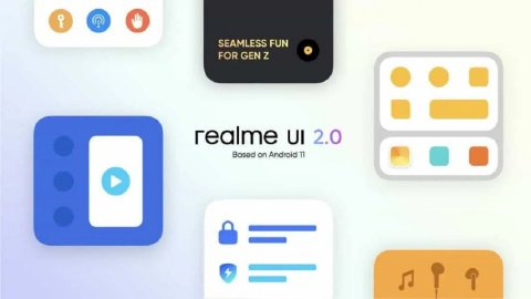 Published a schedule for updating realme smartphones to the new UI 2.0 firmware