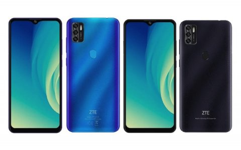 ZTE Blade A7s 2020: large display and triple camera