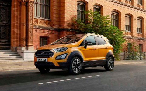 Ford unveils new off-road version of EcoSport crossover