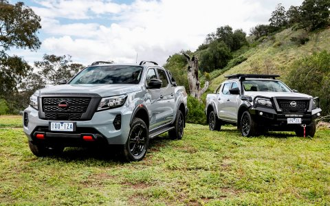 Nissan introduced the updated pickup Navara