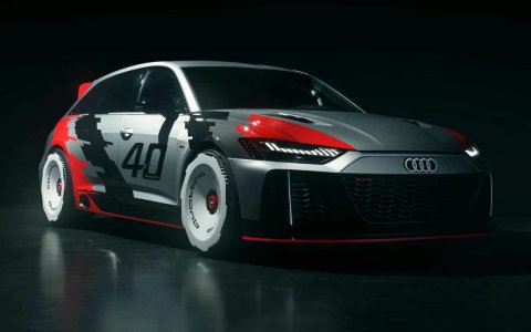 Audi RS6 GTO - students developed a retro-style racing station wagon