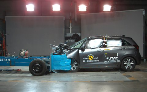 Euro NCAP checked the safety of new Mazda MX-30 and Honda Jazz