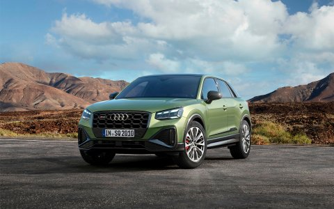Audi has updated the sports version of its smallest crossover SQ2