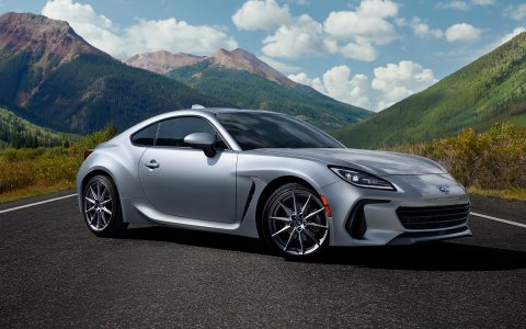 Subaru BRZ sports car has become more powerful after generation change