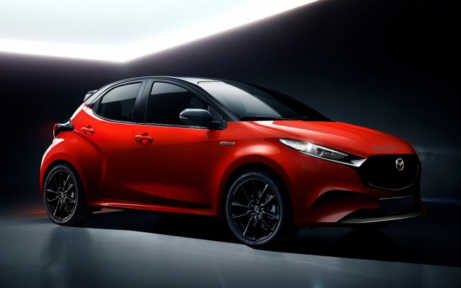 The new Mazda2 for Europe will be a redesigned Toyota Yaris hybrid