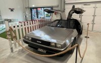 "Famous for ""Back to the Future"" DeLorean will be sold in an Estonian thrift store"