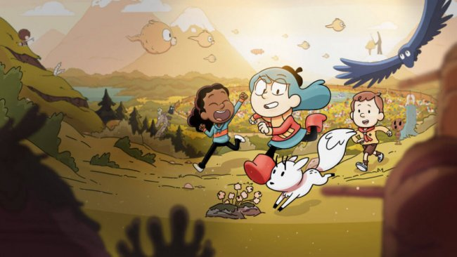 "Netflix presented the trailer for the second season of the animated series ""Hilda"""