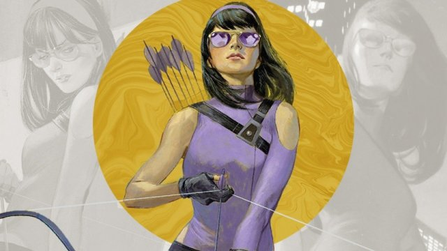 The network got a photo of Kate Bishop from the series about Hawkeye