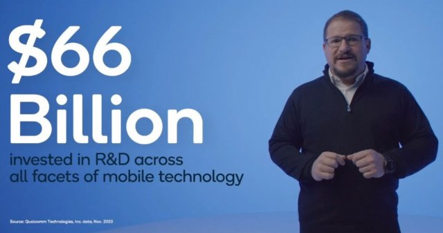Qualcomm spoke about investments in processors and plans for the future