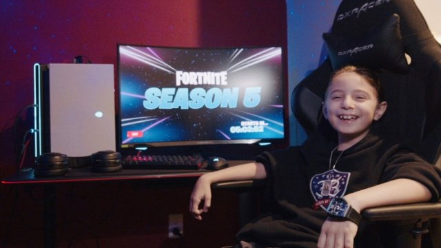 Eight-year-old Fortnite player signed a contract for 33 thousand dollars