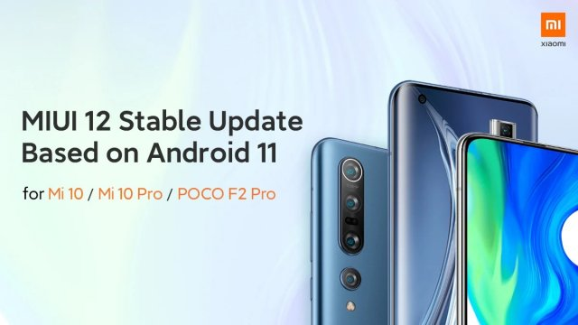 For flagships Xiaomi, Redmi and POCO released stable firmware on Android 11