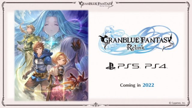 Action RPG Granblue Fantasy: Relink will be released on PlayStation 5