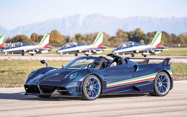 Huayra Tricolore: Pagani unveiled a special version of the Huayra supercar