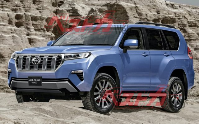 New generation Land Cruiser Prado: photos and details